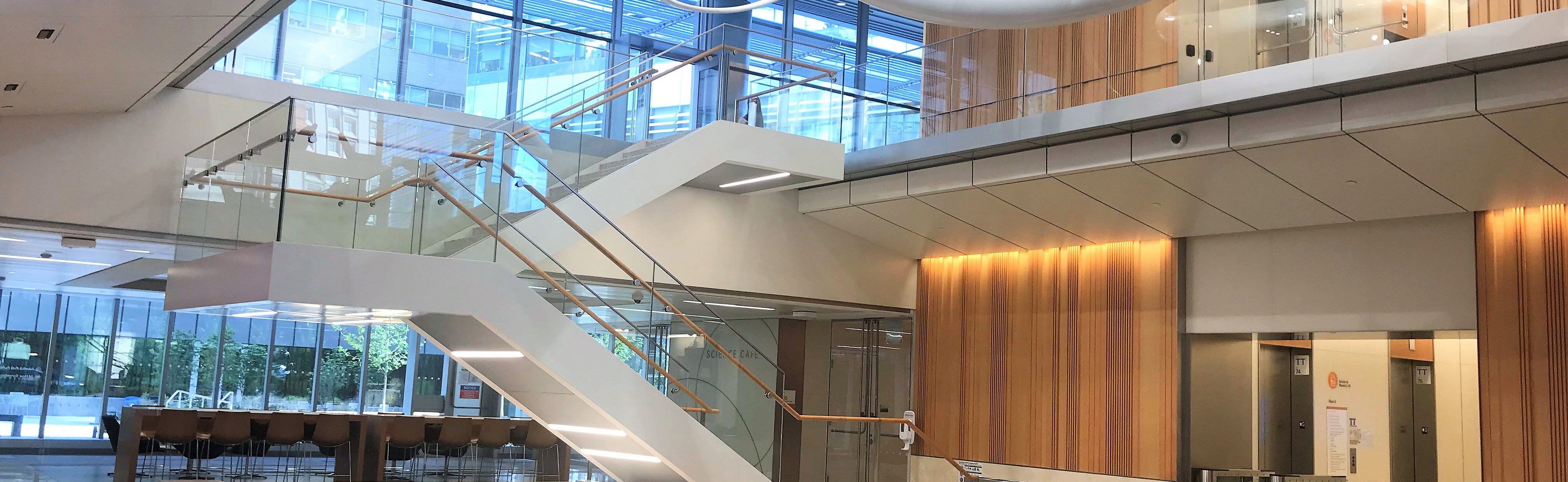 New York University - Langone Medical Center - Science Building - Staircase E, New York, NY